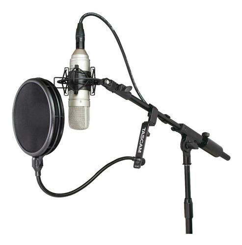 Filtro Para Micrófono Antipop Tascam Profesional Tm-ag1