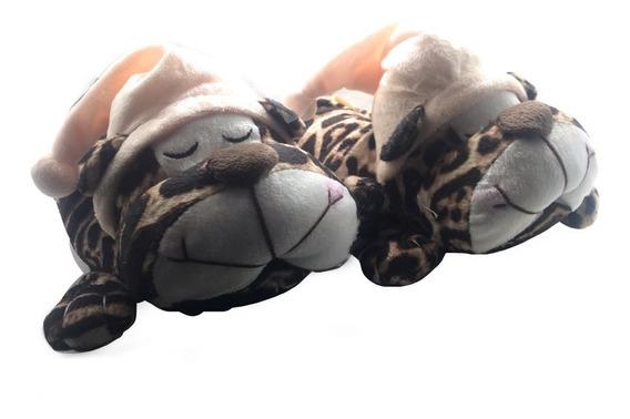 Pantuflas Peluche Gummi Tigre Dormilon Nº 30 / 34