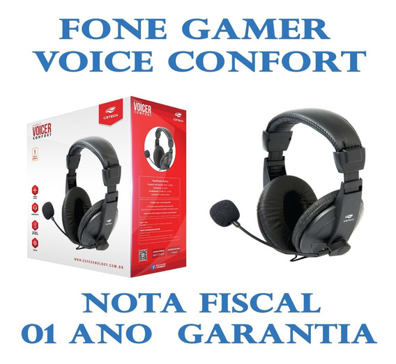 Fone De Ouvido Headset Gamer Voicer Confort Mi-2260ar C3tech