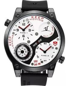 Relógio Weide Masculino Preto Barato Garantia Nota A2221