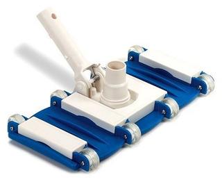 Swimline Weighted Flex Vacuum Head, Azul