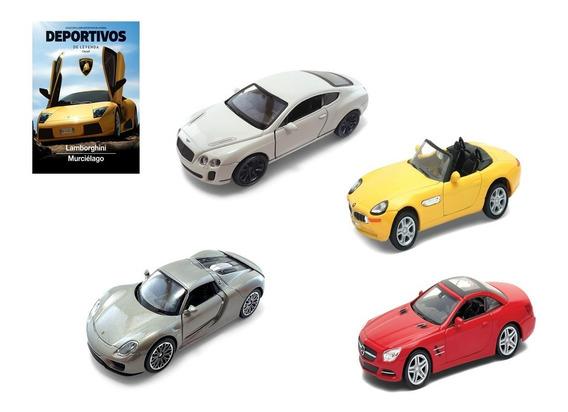 Clarín Colección Autos Deportivos Set 2 De 4 Autos