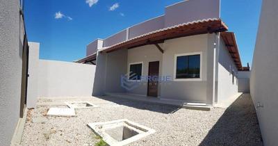 Casas Em Loteamento Fechado 3 Quartos, Ancuri, Itaitinga. - Ca0603