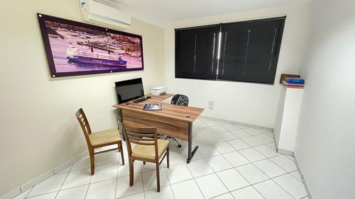 Sala Para Alugar, 22 M² Por R$ 1.000,00/mês - Centro - Santos/sp - Sa0226