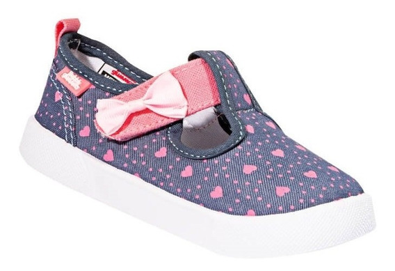 Tenis Casual Bubble Gummers Niña Azul Marino Textil Dolly