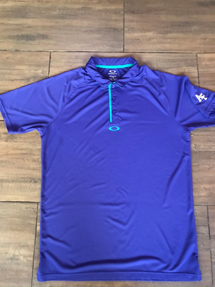 Oakley Playera Tipo Polo Golf Talla L Adulto
