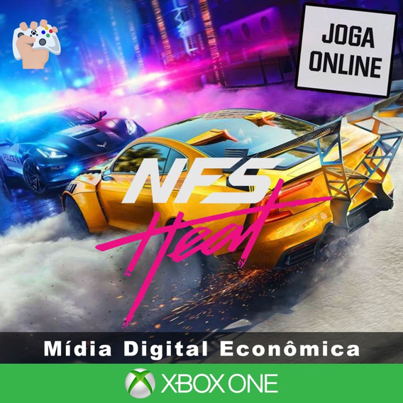 Need For Speed Heat - Xbox One - Mídia Digital + Brinde
