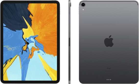 Apple iPad Pro 11 64gb 2018 Wi-fi + Nfe + Película De Vidro