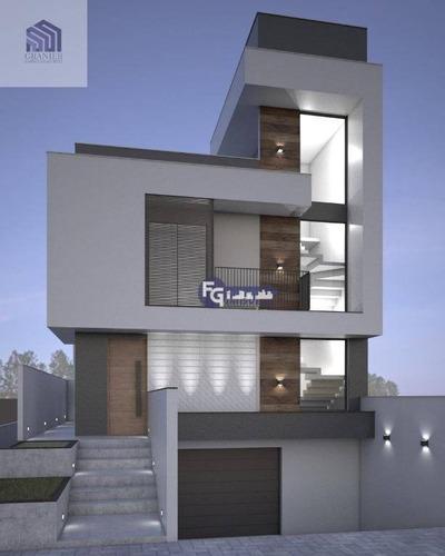 Imagem 1 de 17 de Sobrado Com 3 Dormitórios À Venda, 159 M² Por R$ 600.000,00 - Xaxim - Curitiba/pr - So0160