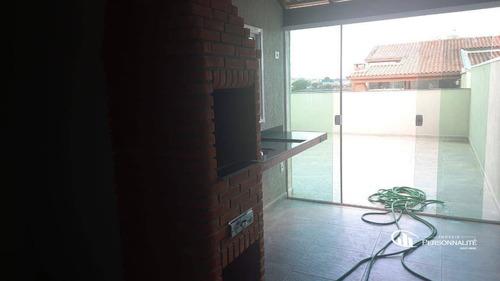 Imagem 1 de 30 de Cobertura Com 2 Dormitórios À Venda, 110 M² Por R$ 388.000,00 - Utinga - Santo André/sp - Co0075