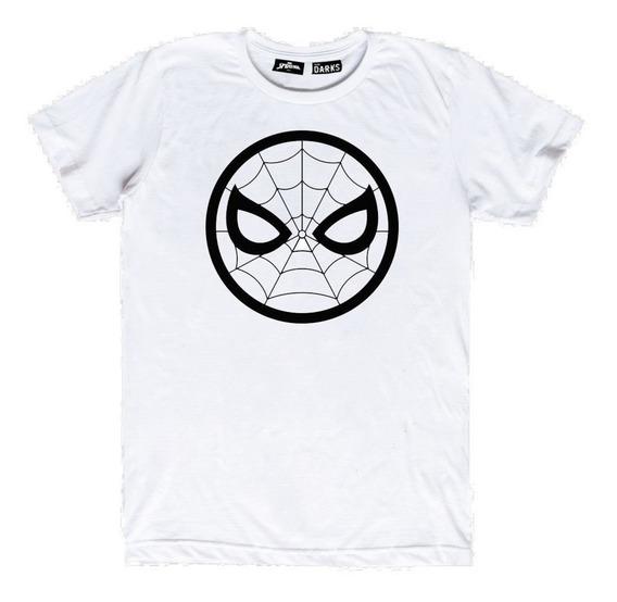 Playera Mascara De Latex Darks × Marvel Spider-man
