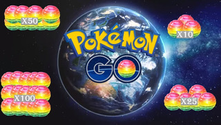 Pokemon Go - Caramelo Raro X50