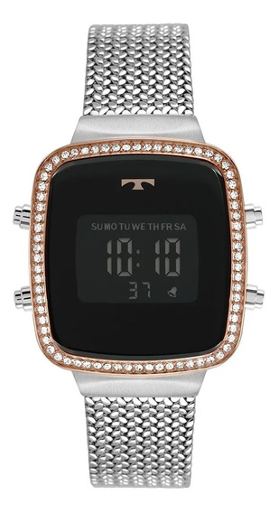 Relógio Feminino Technos Prata Bj3478ac/4p