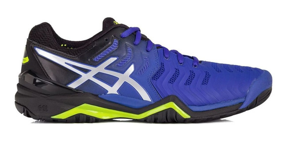 Tênis Asics Gel Resolution 7 Azul - Quadra Rápida
