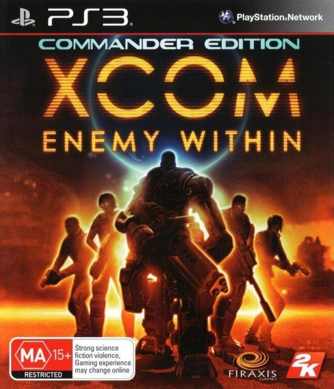 Xcom Enemy Within - Playstation 3 - Envio Hoje