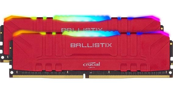 Memoria Crucial Ballistix Rgb 3200mhz Dual Channel Kit 2x8gb