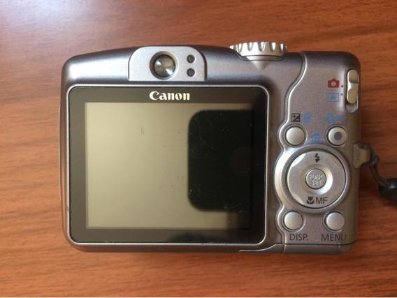 Câmera Cânon Powershot A710is Funciona 100% + C/ Bolsa