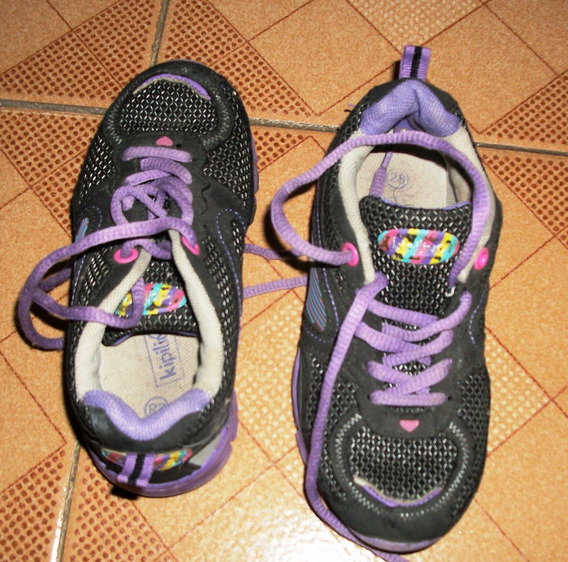 Zapatos Deportivos Kipling Para Niñas Como Nuevo
