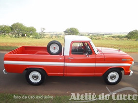 Ford Pick Up F-100 79 Super Série - Original Ateliê Do Carro