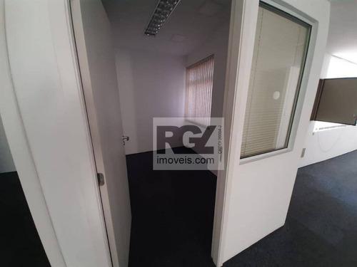 Sala Para Alugar, 487 M² Por R$ 13.000,00/mês - Centro - Santos/sp - Sa0277
