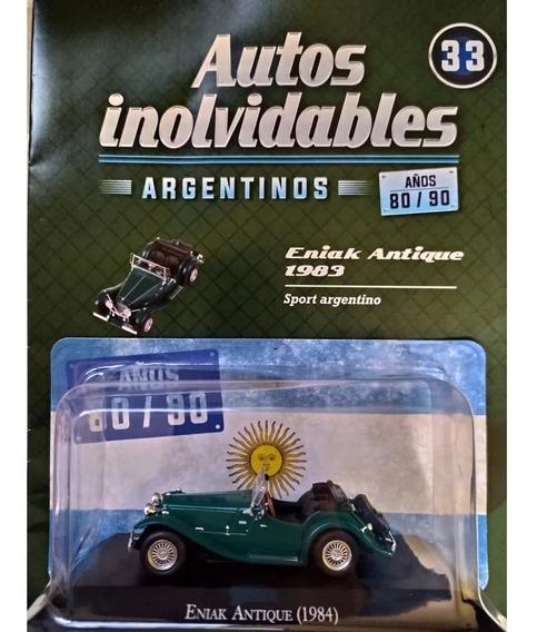 Autos Inolvidables 80/90 N° 33 Eniak Antique (1983) Salvat