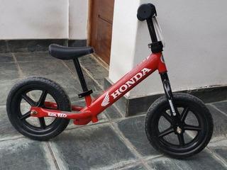 Strider Honda Unica, Ideal Nenes De 2 A 5 Años