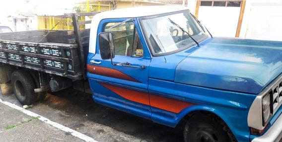** Ford F4000 1983 - Motor Mwm229 **