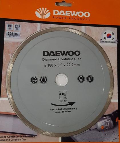 Disco Diamantado Continuo Daewoo P/marmol/ceramica 22.2mm