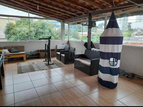 Imagem 1 de 25 de Sobrado Com 2 Dormitórios À Venda, 85 M² Por R$ 450.000,00 - Utinga - Santo André/sp - So4188