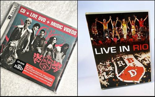 Cd E Dvd - Rbd Celestial Fan Edition + Live Rio Novos