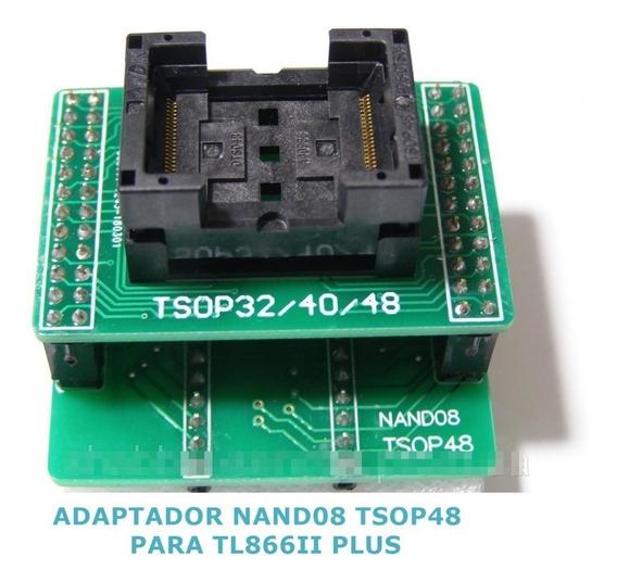 Adaptador Nand08 Tsop48 Dip40 Tl866ii Plus Xgpro