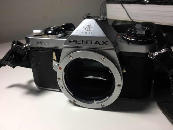 Pentax Me 35mm Analógica Antiga Funcionado Colecionador