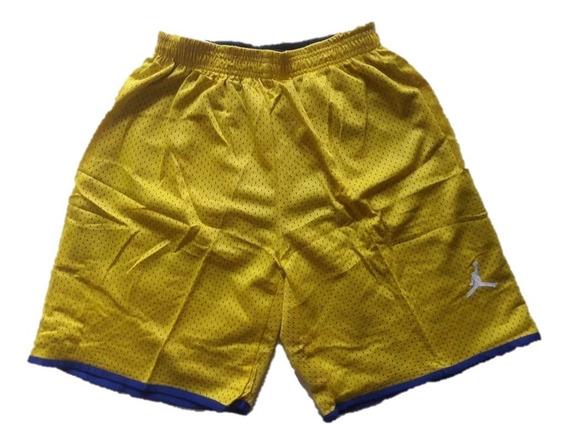 Pantaloneta Nike Jordan Talla L Promoción Doble Faz