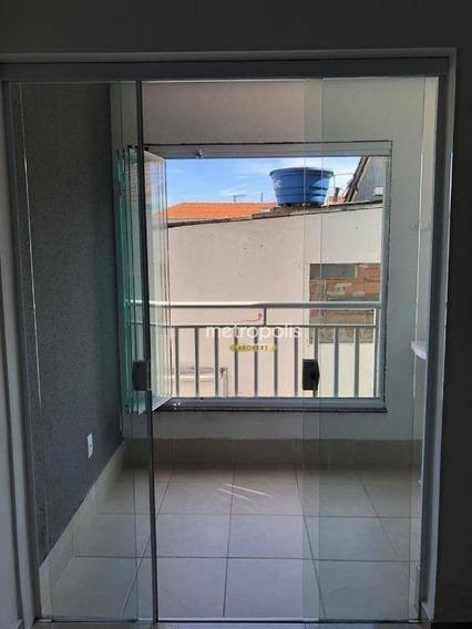 Apartamento Com 1 Dormitório À Venda, 39 M² Por R$ 255.000,00 - Nova Gerti - São Caetano Do Sul/sp - Ap3561