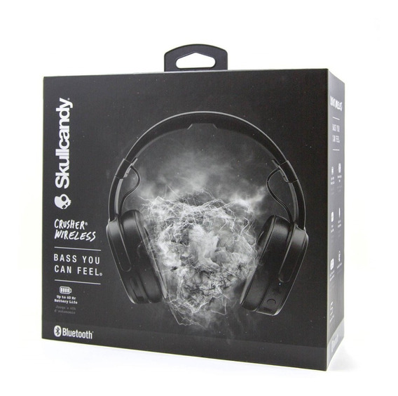 Fone Skullcandy Crusher Wireless Novo 40hr Autonomia Bateria
