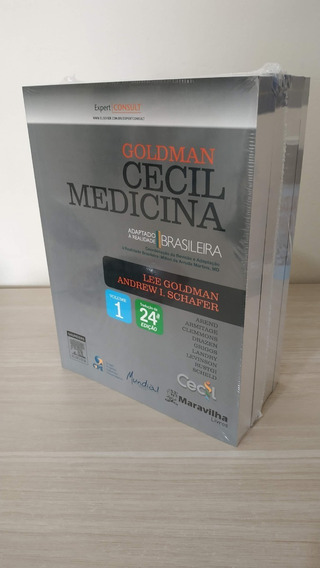 Livro Goldman Cecil Medicina Interna - 4 Vol. 24 Ed Elsevie