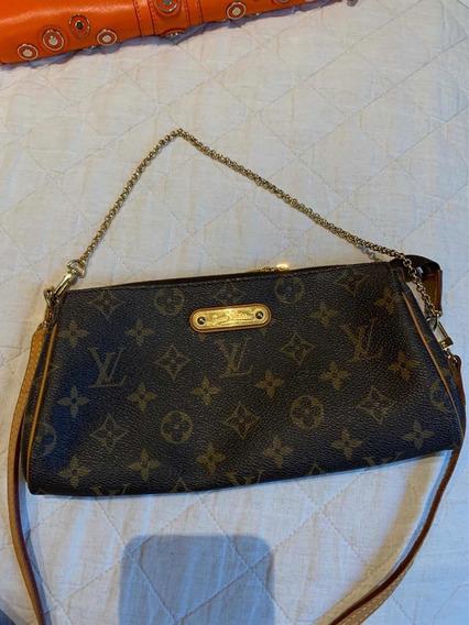 Bolsa Clutch Eva Louis Vuitton Original