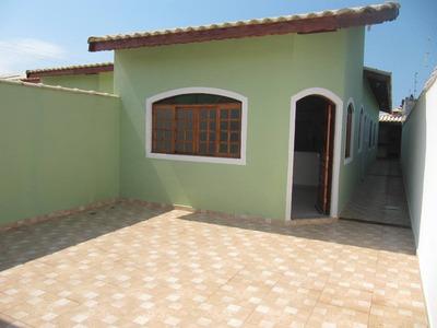 Casa Para Venda 3 Dormitórios Em Itanhaém - Sp - Ref. 4895