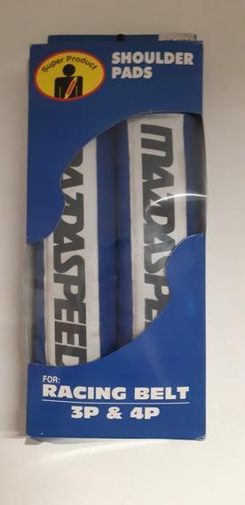 Mazdaspeed Almohadillas Cinturon Seguridad Azul Belts Mazda