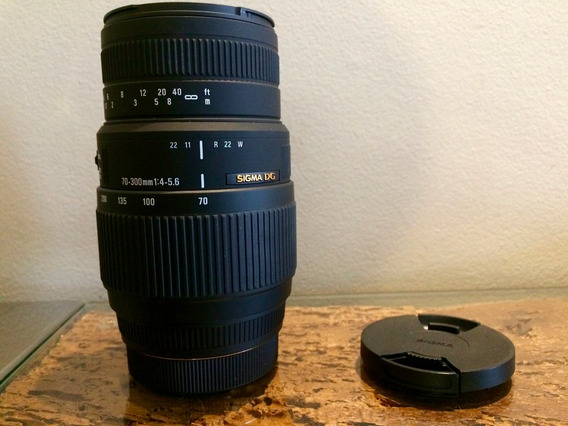 Lente Sigma 70-300mm F/4-5.6 Dg Sony A-mount Macro