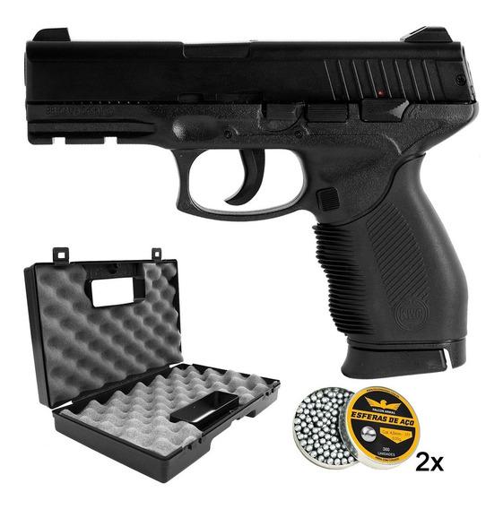 Pistola 4.5 Kwc Taurus 24/7 Slide Metal + Maleta+ 600 Esfera