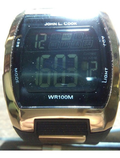Reloj Digital John L.cook Quartz