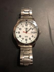 Reloj Timex De Hombre - Indiglo - Con Luz Fosforescente