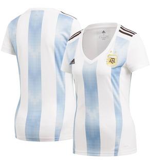 Camisa Argentina Feminina 18/19 - Queima De Estoque