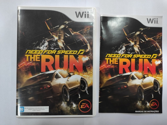 Need For Speed The Run Americano Original Wii Impecável