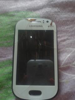 Gt-s6812b Samsung Duos Com A Tela Trincada E Travado