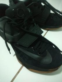 Tenis Nike Kd Black Suede Edição Limitada Jordan Lebron Nba