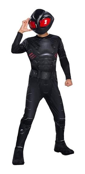 Disfraz Niño Aquaman Black Manta Negro 5/7 Años