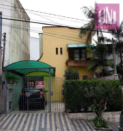 Sobrado Com 3 Dormitórios À Venda, 140 M² Por R$ 580.000 - So0523