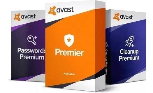 Avast Premier 2019 Original Antivirus Licencia 2pc 32&64 Bit